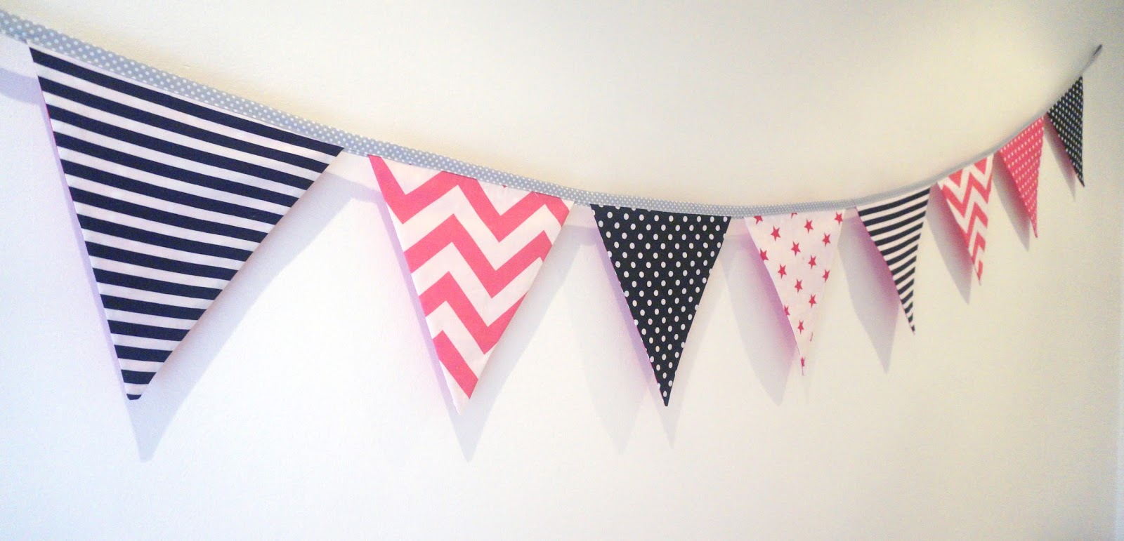 meg-made bunting for Saraid