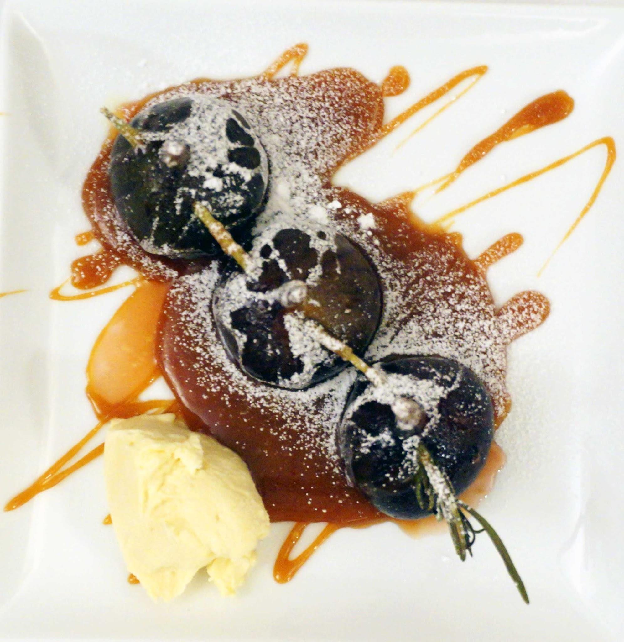Gordon Ramsay caramelised figs