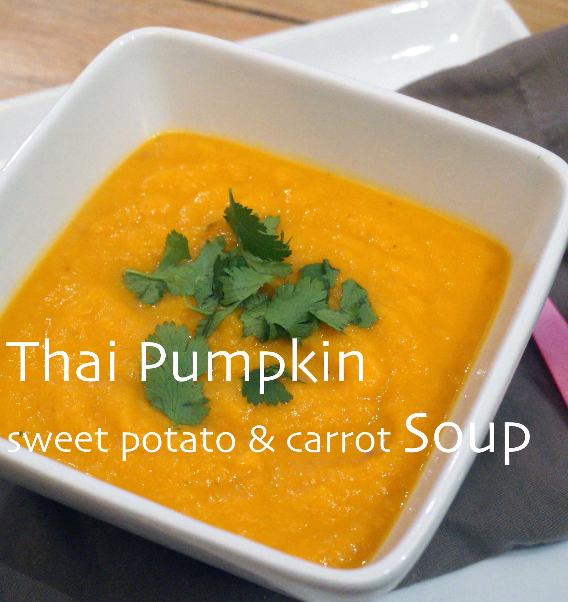 Fast Diet Recipe Files: Thai Pumpkin Soup