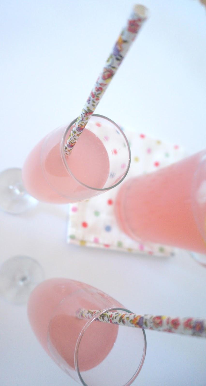meg-made: Homemade Pink Lemonade recipe