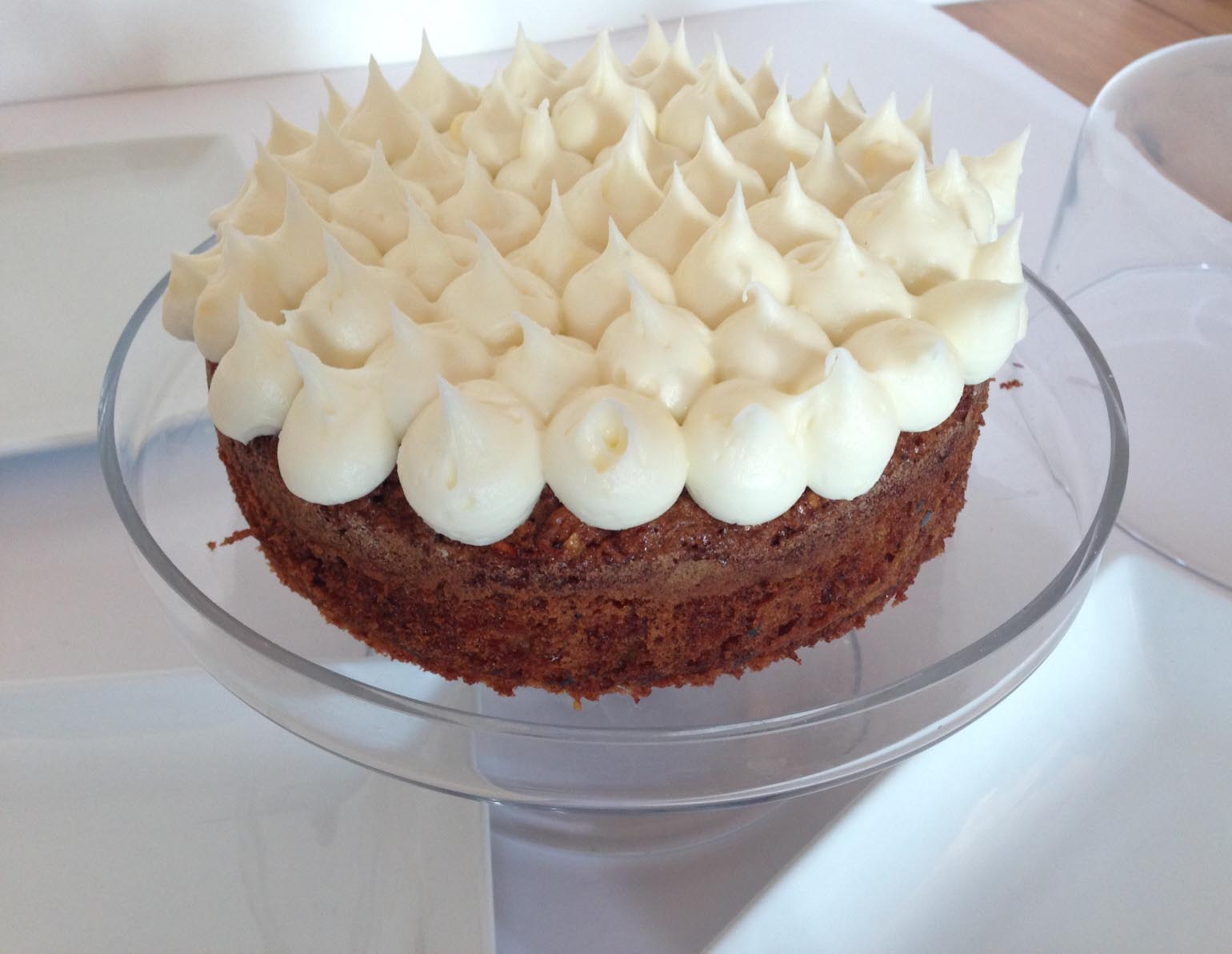 meg-made: Gluten Free Carrot Cake with Cream Cheese Frosting/Icing