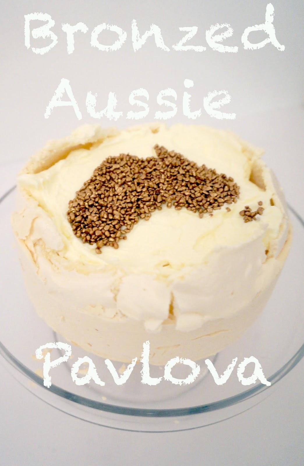 meg-made: Bronzed Aussie Pavlova