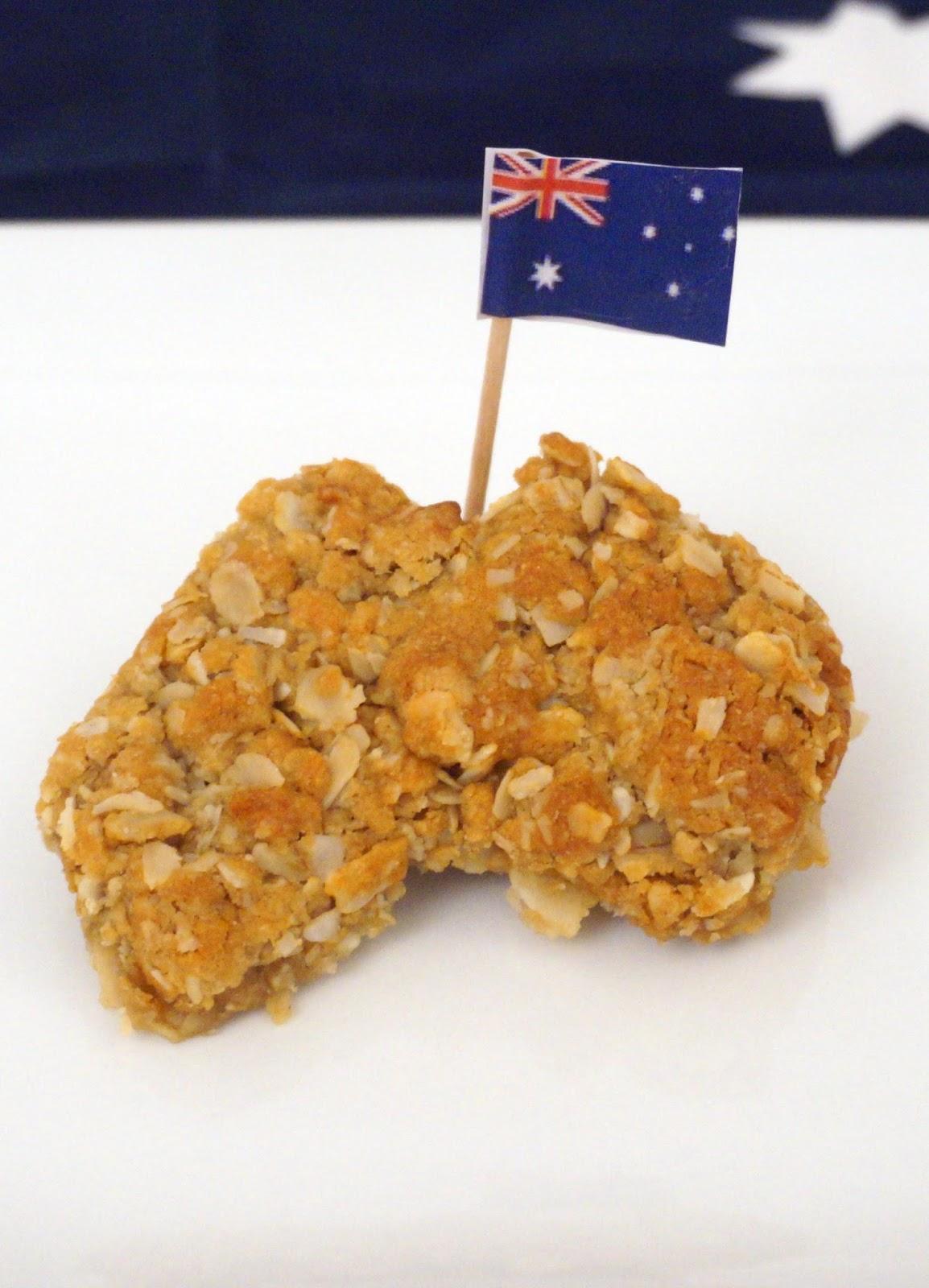 meg-made: Australia Day 2014 Lambassadors ANZAC biscuits