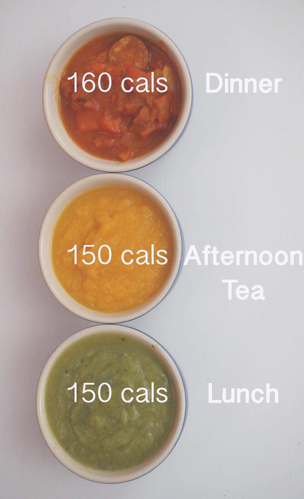 The Fast Diet recipes meg-made: Soup trio