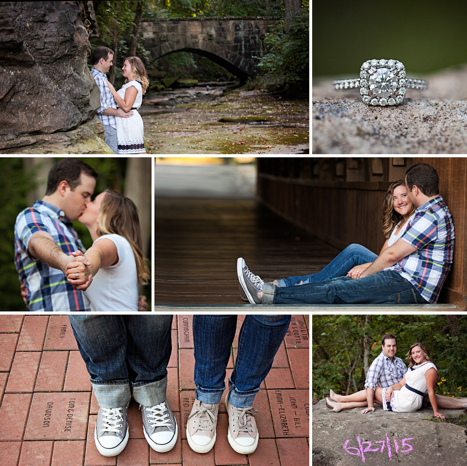 Converse... yes!  I LOVE when the couple likes to add a little FUN to their session.