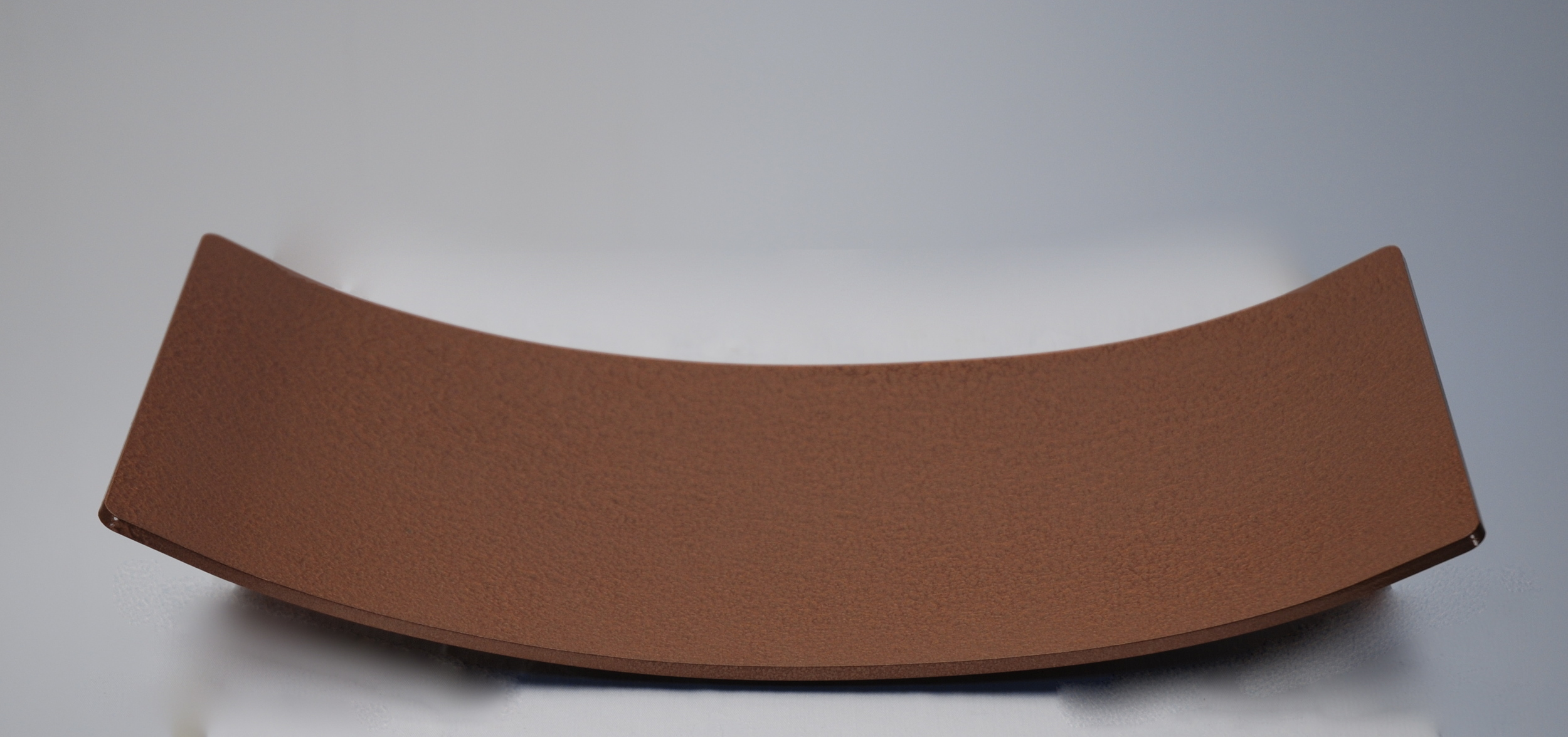Metal Arc Bowl w/ Hammered Copper Finish