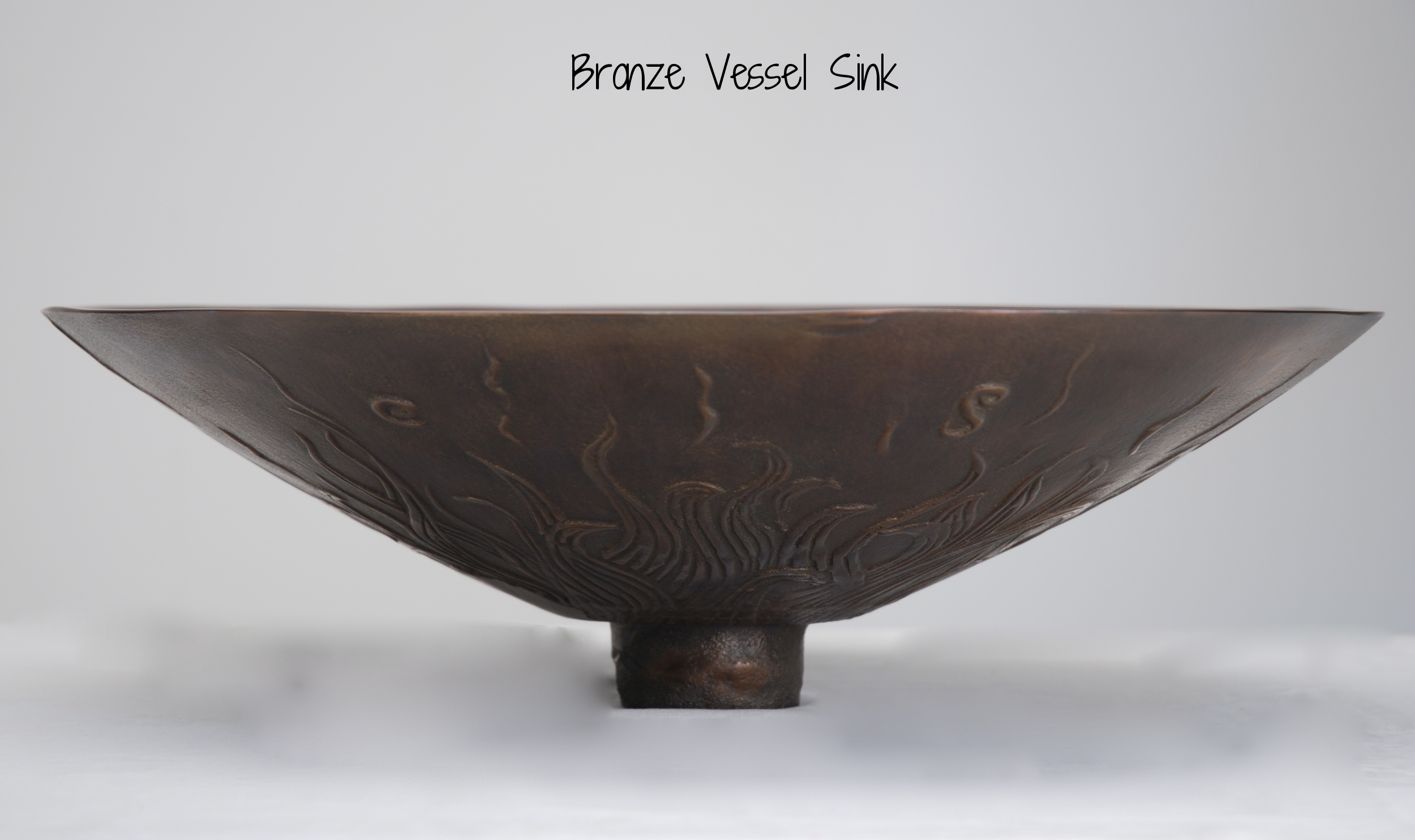 Solid Bronze Vessel Sink