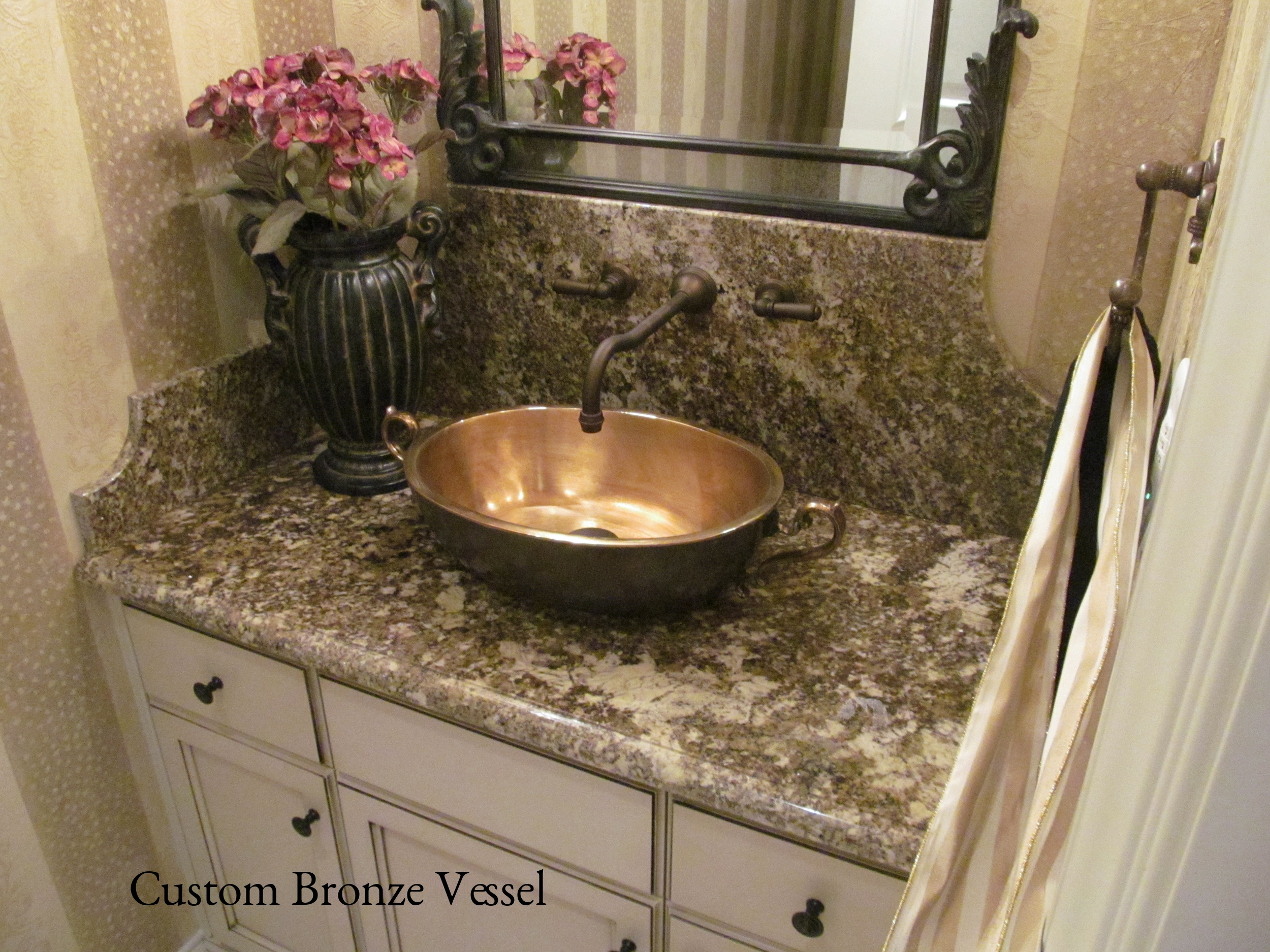 Custom Bronze Vessel Sink