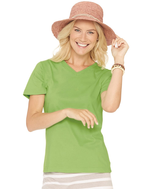 LAT - Women's V-Neck Premium Jersey Tee - 3587.jpg