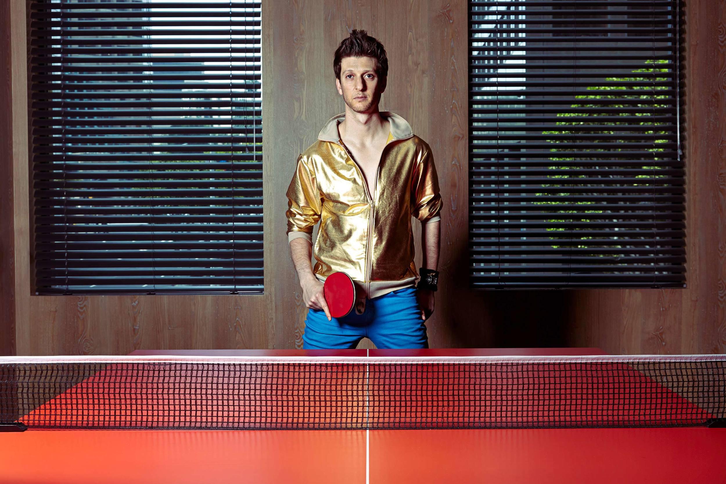 international table tennis champ, Adam Bobrow