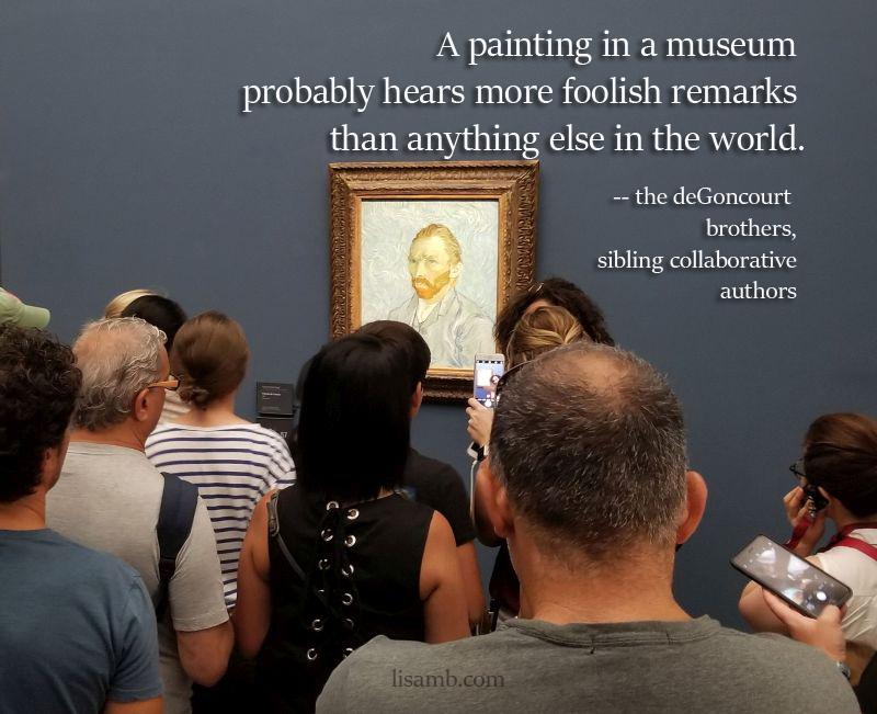 """Vincent van Gogh, """"Self-Portrait,"""" 1889"""
