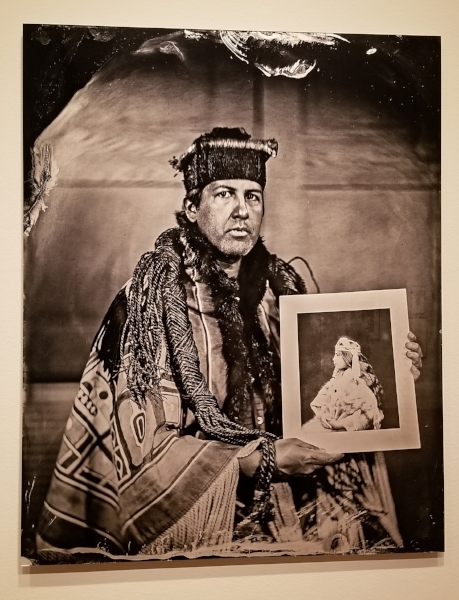 """Will Wilson, """"Talking Tintype, Andy Everson, Artist, Citizen of the K'  ómoks  First Nation"""""""