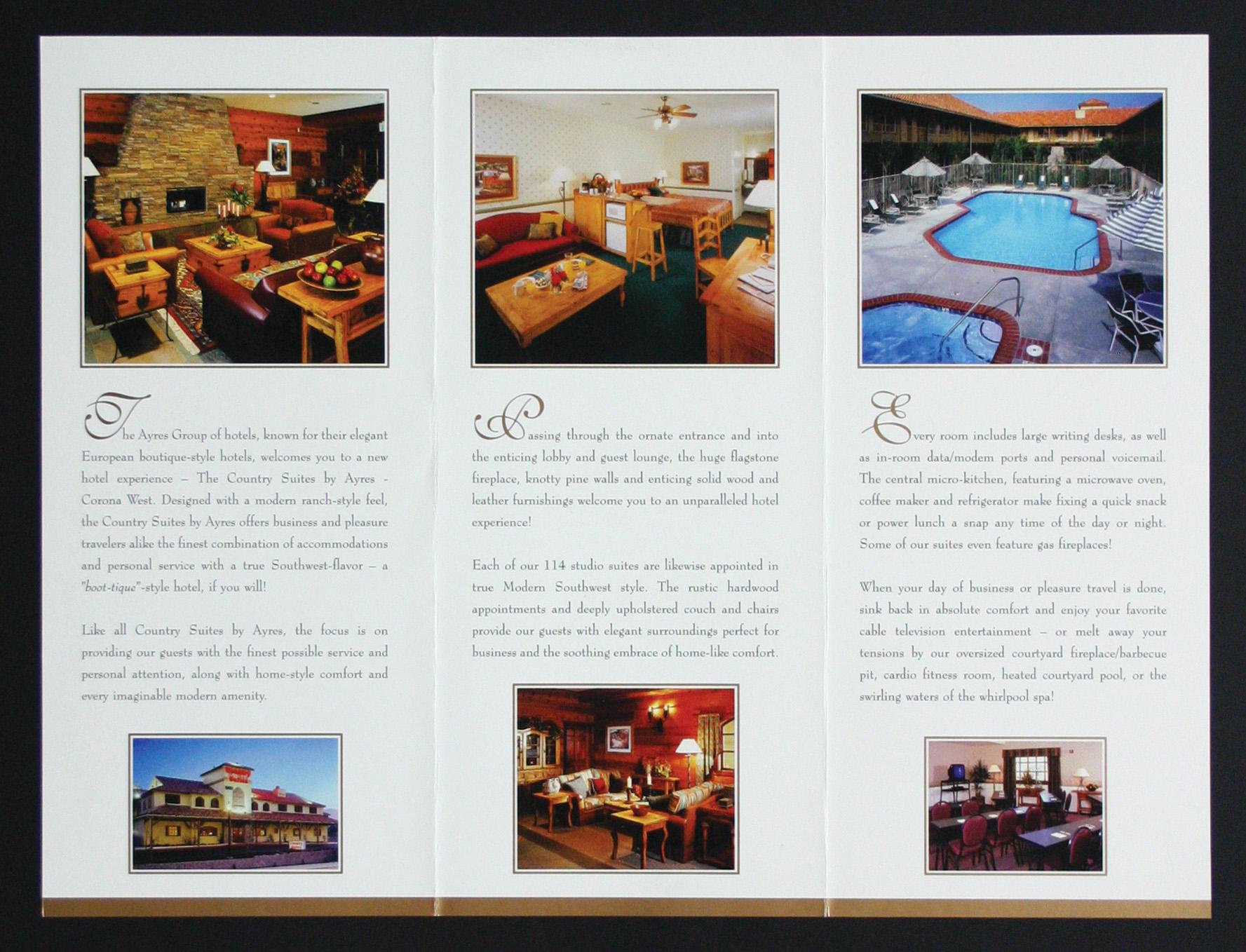 Ayres Hotel Tri-Fold