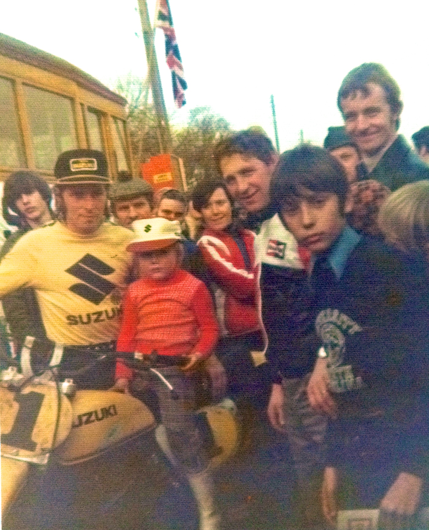 A very young Geert with Roger De Coster!
