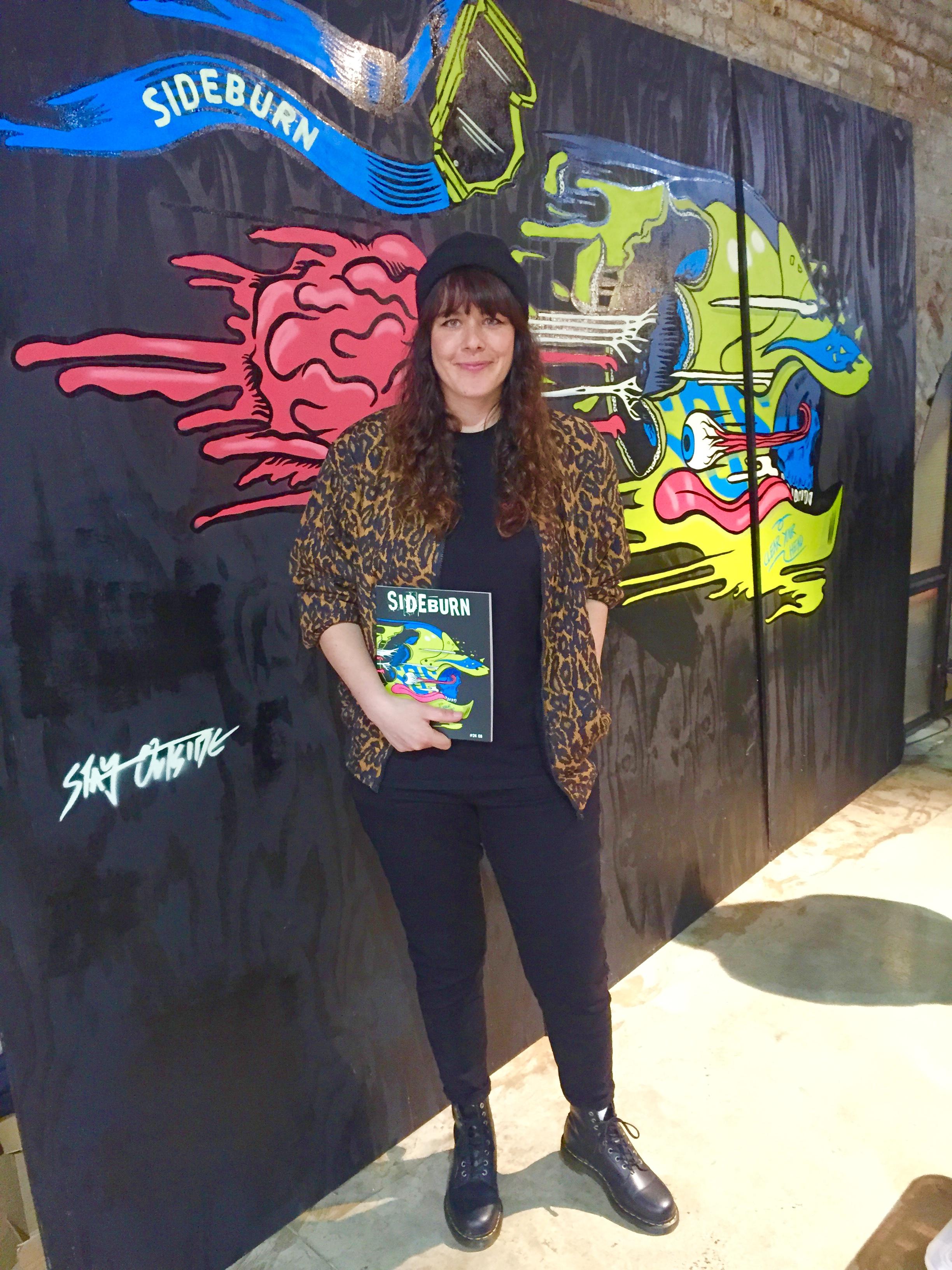 Toria Jaymes, super cool Designer & Illustrator