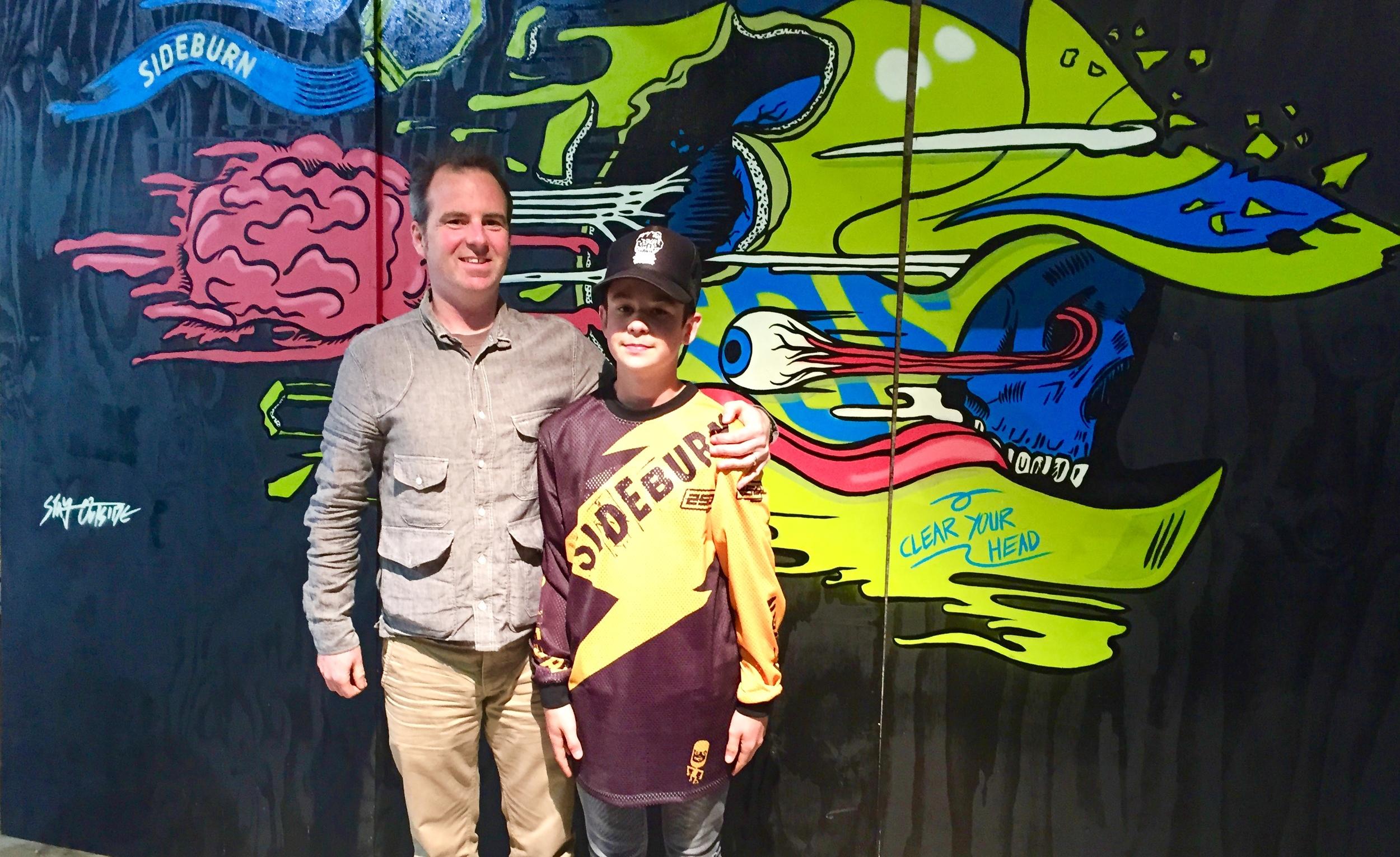 Gary Inman + Son Max