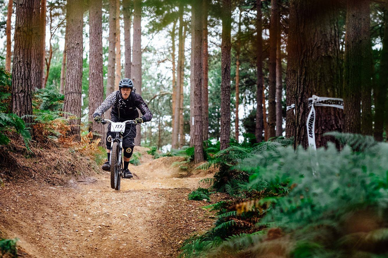 IAIN WATTS, Swinley Forest Enduro