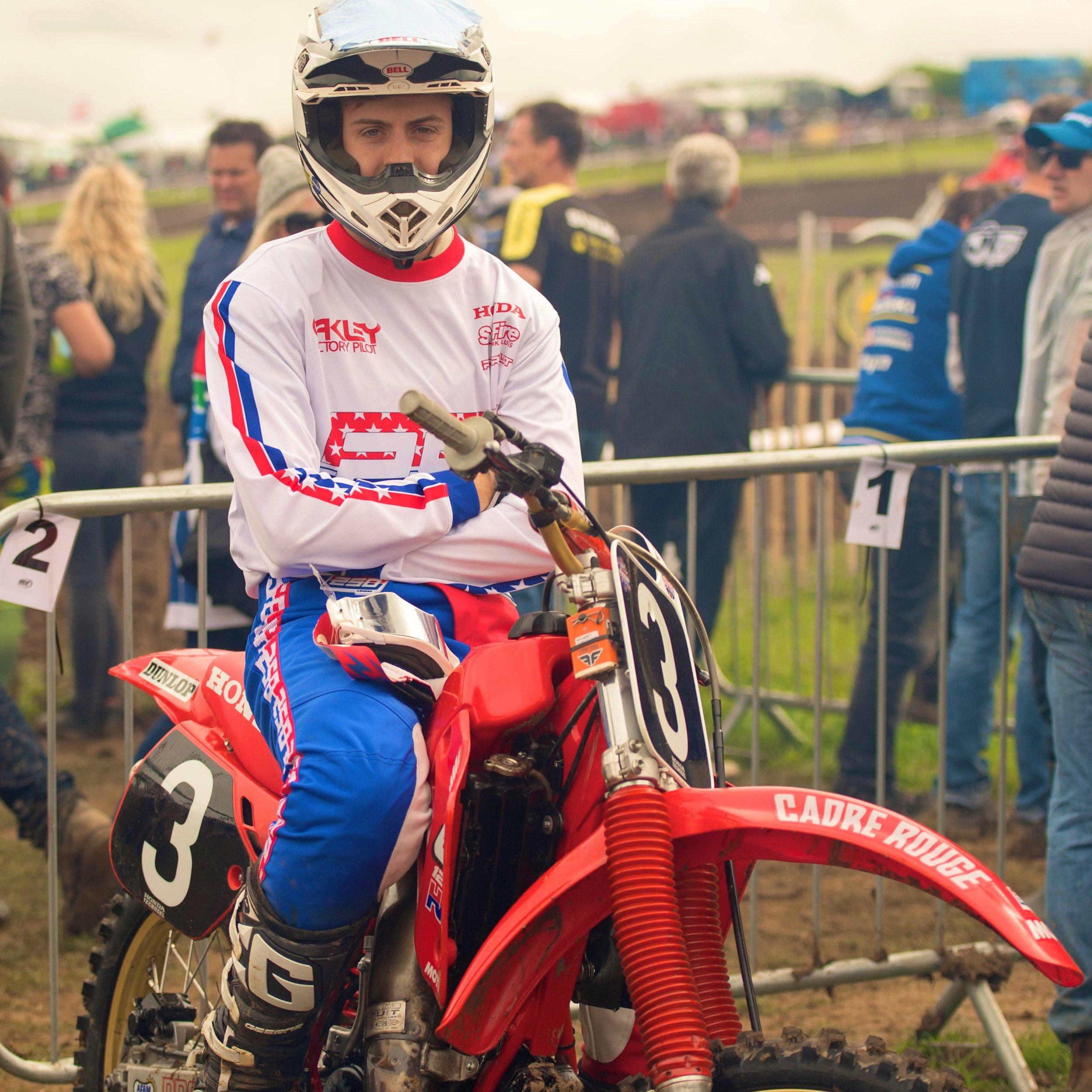 Bradley Doyle, 250LONDON Factory Rider. Image by Colin Hambridge