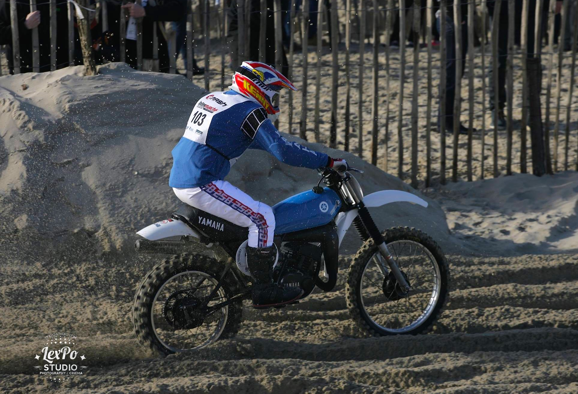 ADRIEN LOHYN, racing at the Enduropale du Touquet in France