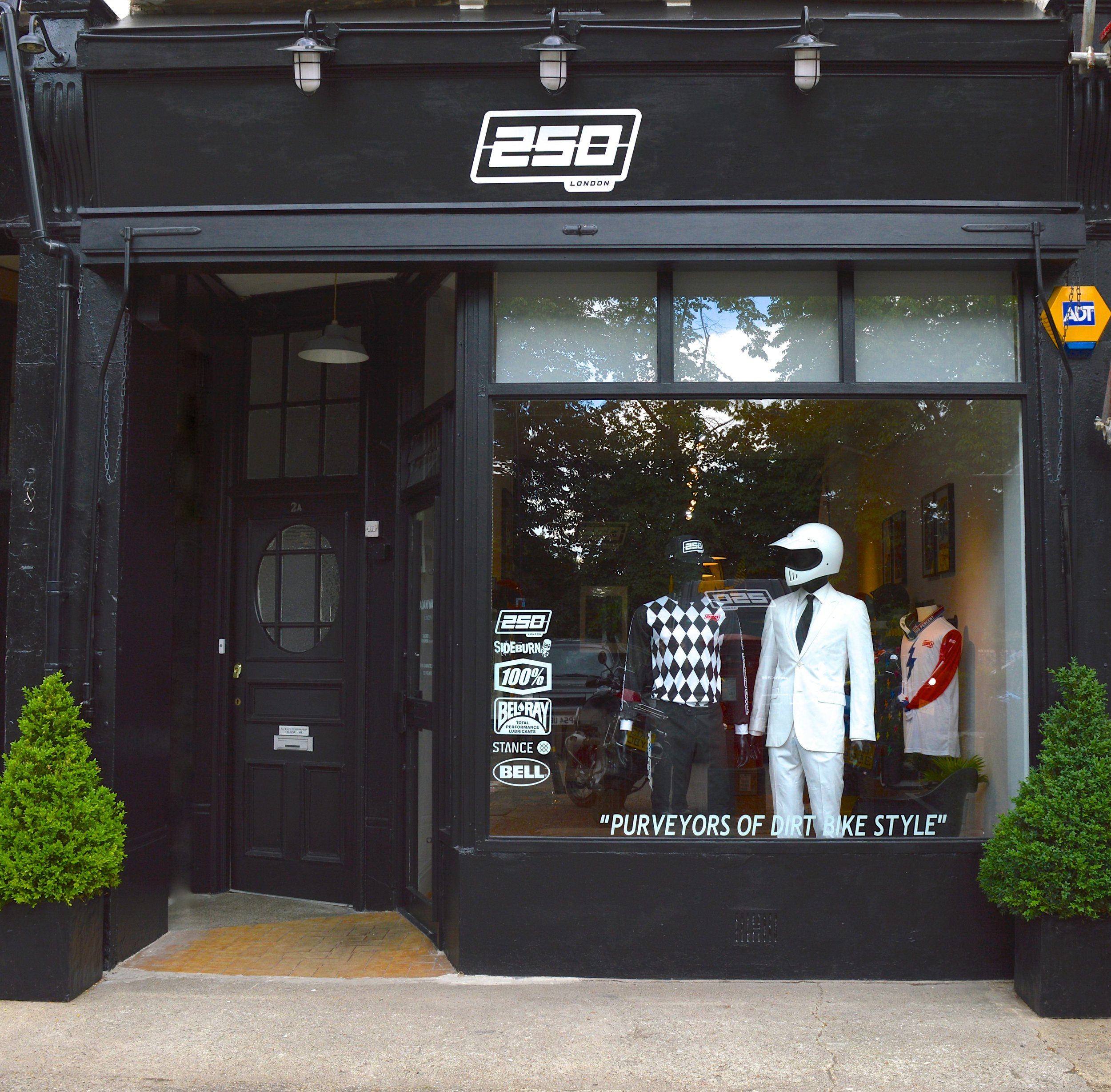 "An ""Off-road Outfitters"", the 250LONDON Store is now open in West London"