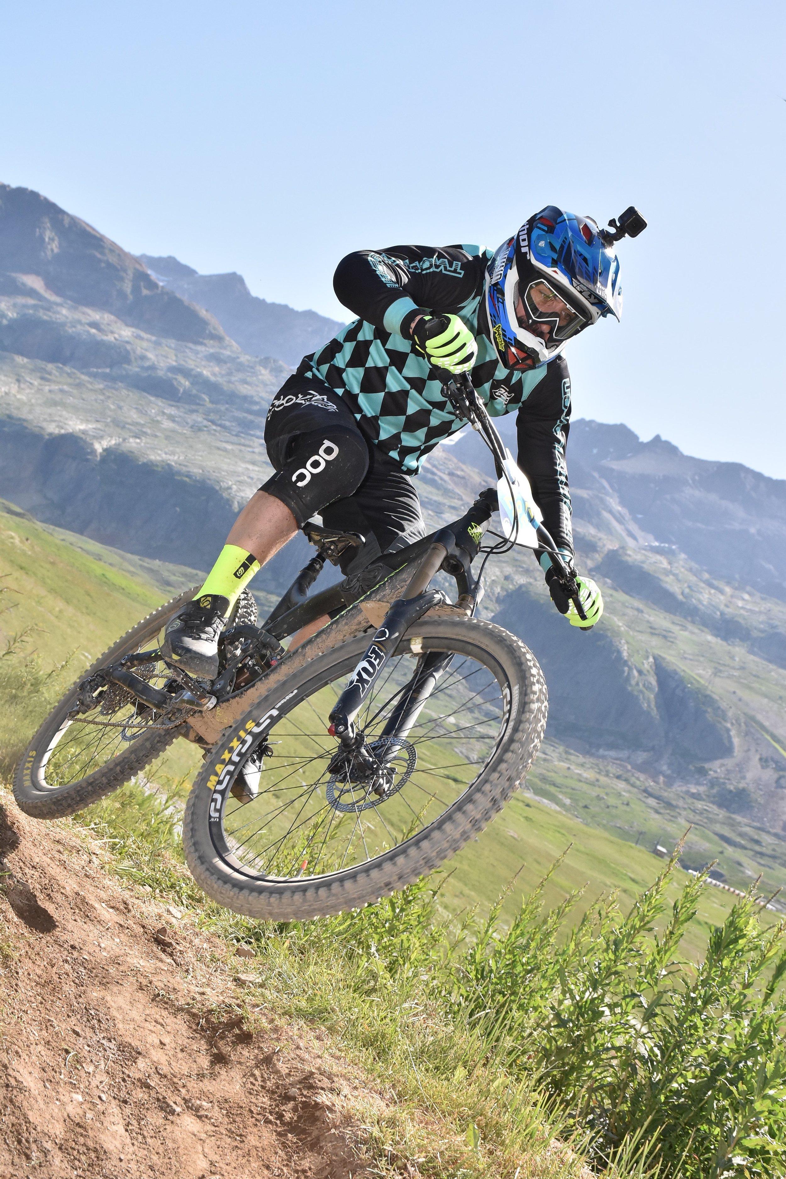 DANIEL MARTINEZ, The Megavalanche Alpe d'Huez 2017