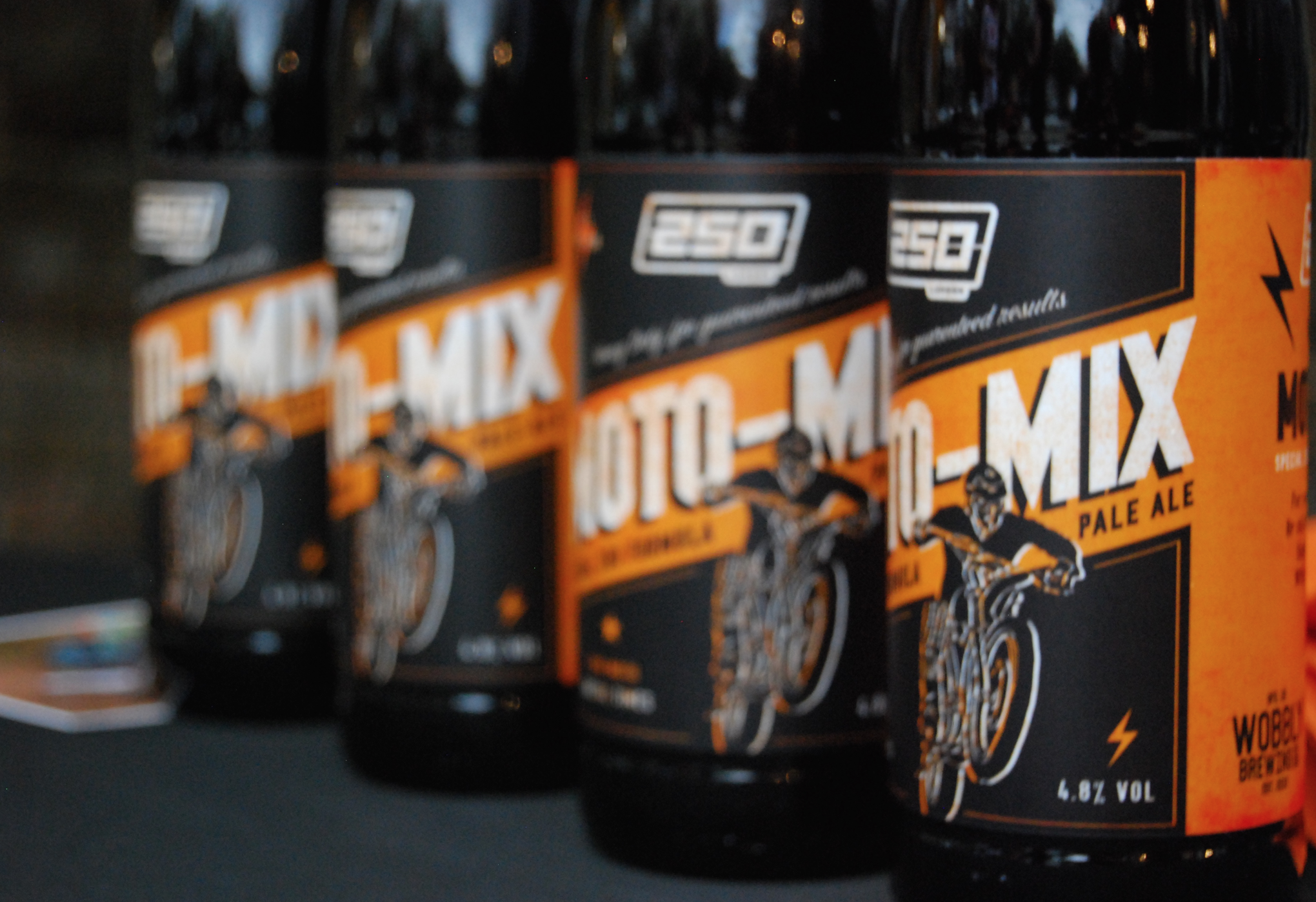 250LONDON MOTO-MIX Beer, went down a treat...