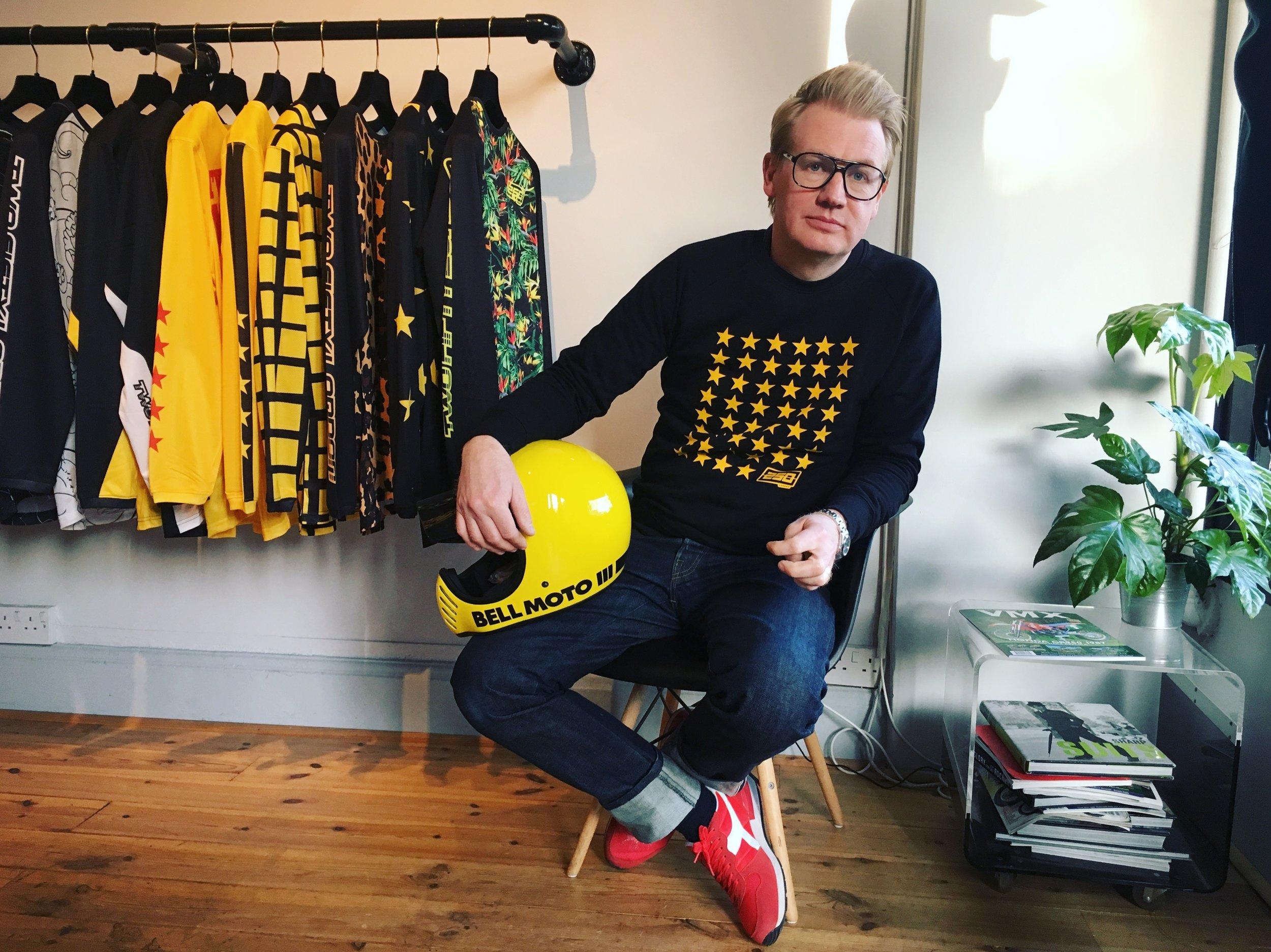 Adam Waite, the creative brain behind the brand
