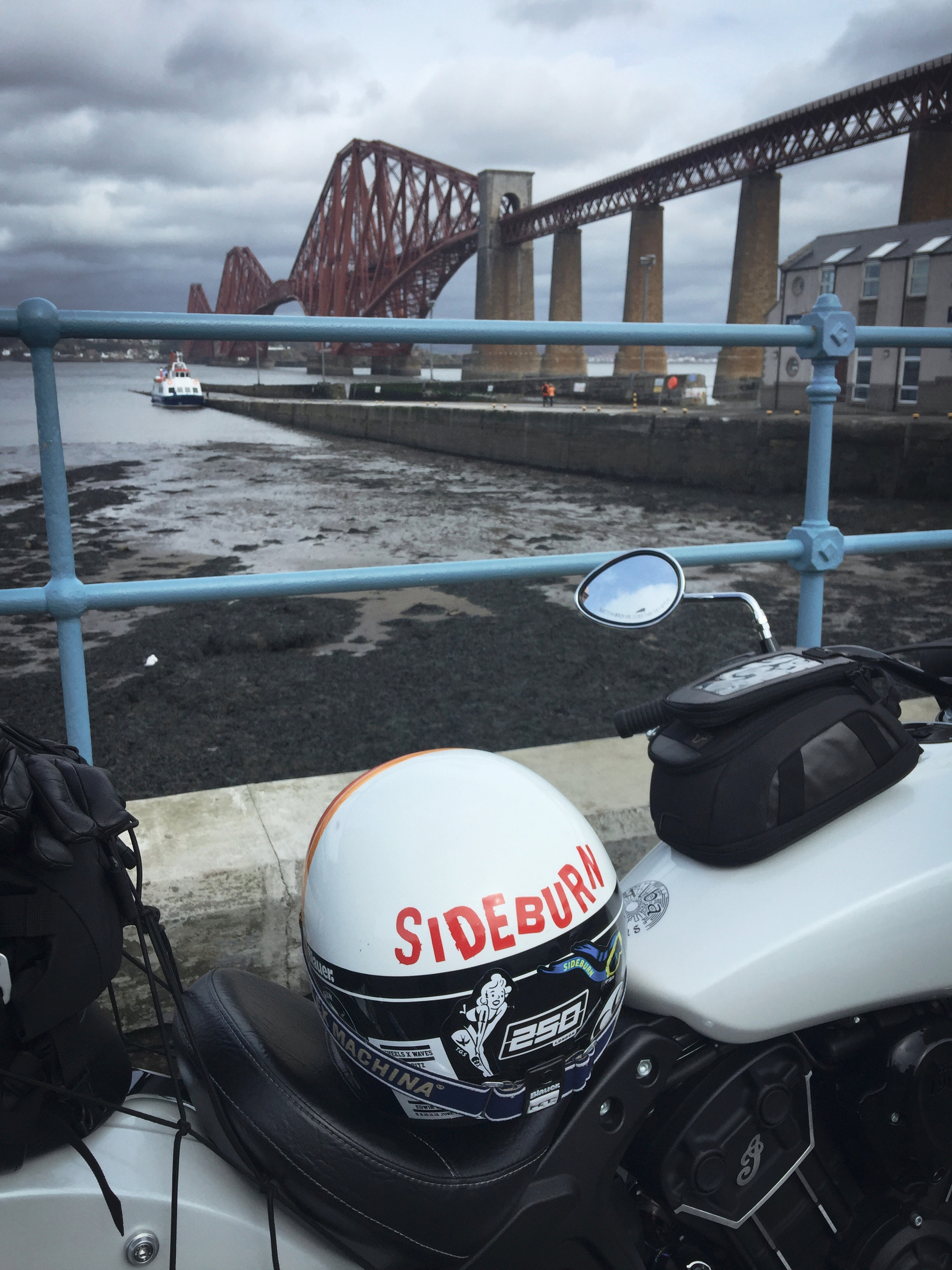 Not a bad view of the Forth Road Bridge
