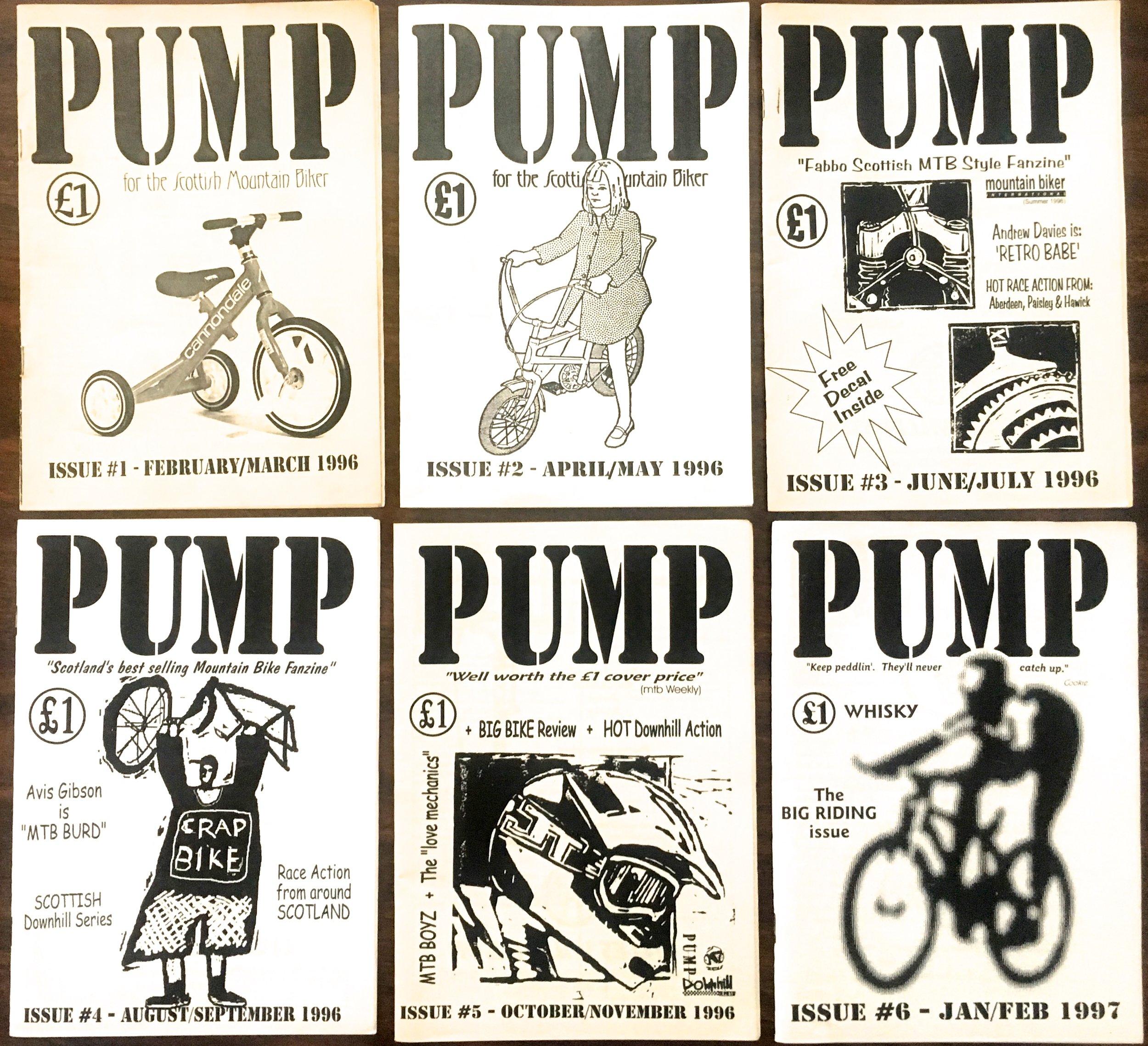 PUMP, an alternative to the mainstream magazine before Social Media took a hold!