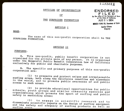 ARTICLES OF INCORPORATION // CLICK TO VIEW FULL DOCUMENT