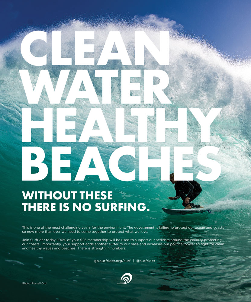 CLEAN WATER HEALTHY BEACHES CAMPAIGN