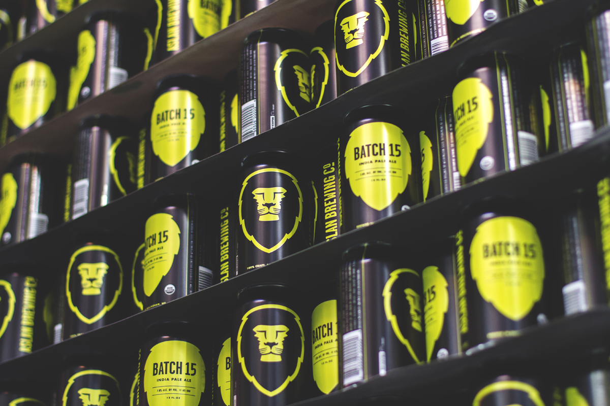 Batch 15 cans waiting to be filled.
