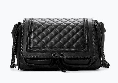 This Zara quilted leather city bag retails for $139. Photo by Zara.