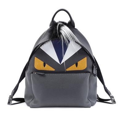 The Fendi Monster is everywhere from bag charms to backpacks.