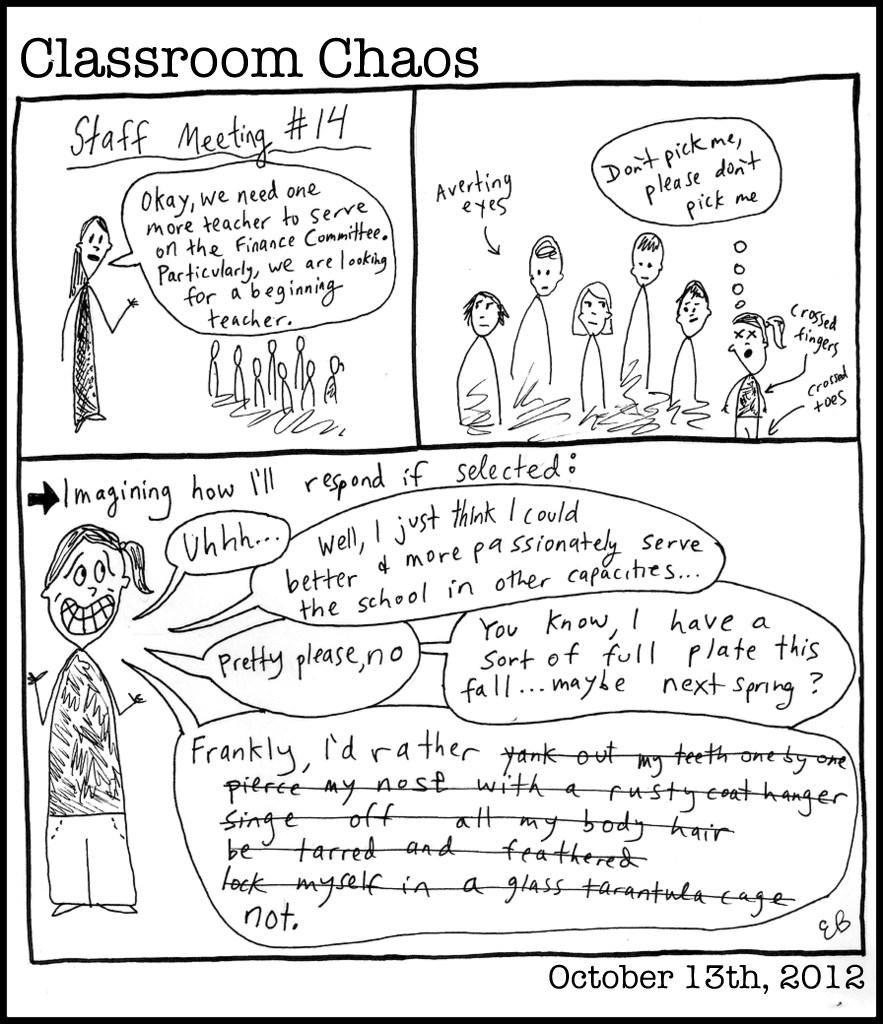 Staff meeting #14