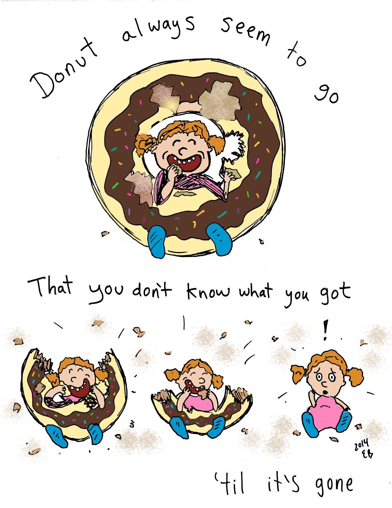 Donut seem to go