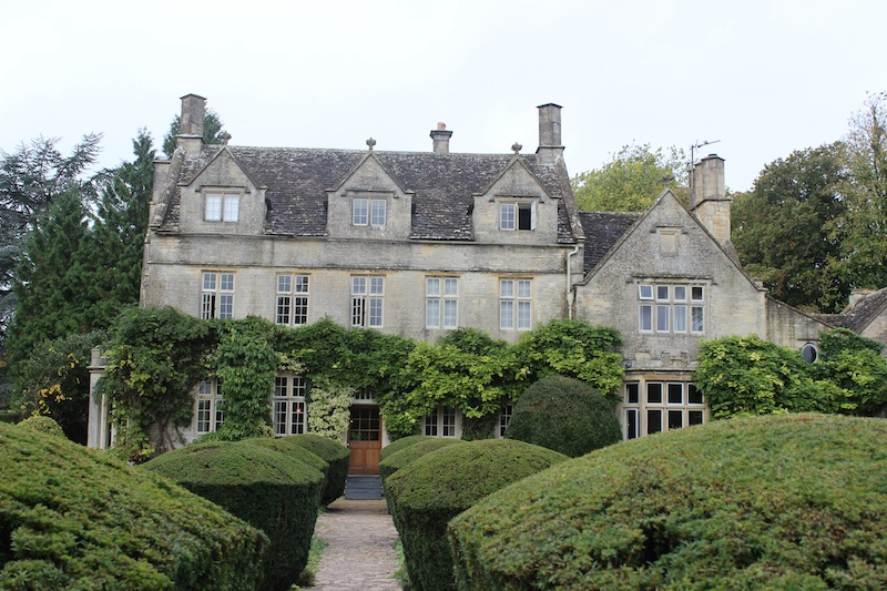 Barnsley House in the Cotswolds.