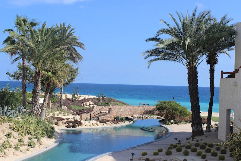 I want to go to Cabo every year - at Las Ventanas al Paraiso.