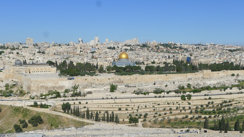 A complicated, beautiful city to explore - Jerusalem.