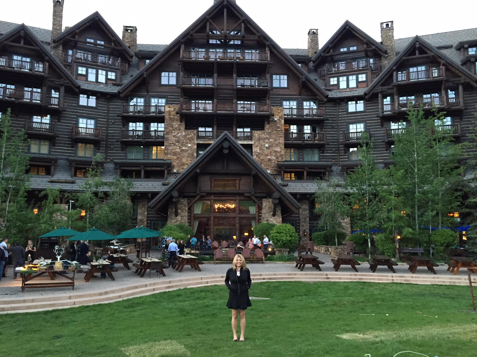 Speaking at the Ritz-Carlton annual meeting in Bachelor Gulch, Colorado