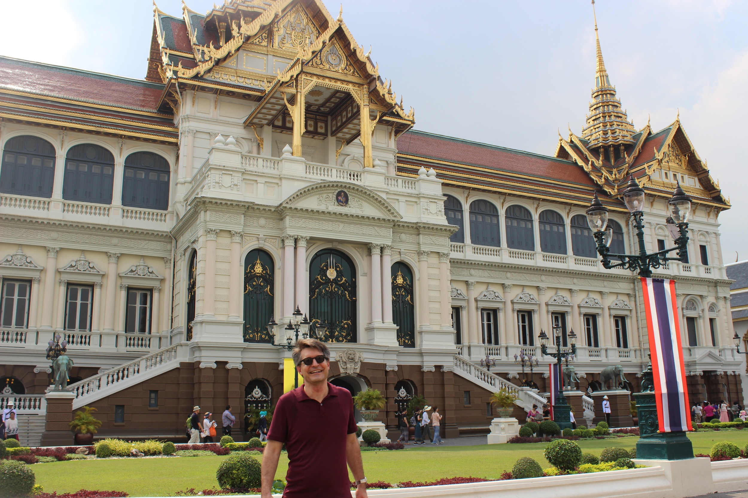 Roaming around the Grand Palace