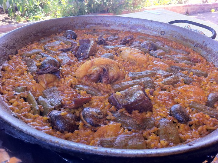 Paella at  La Matandeta