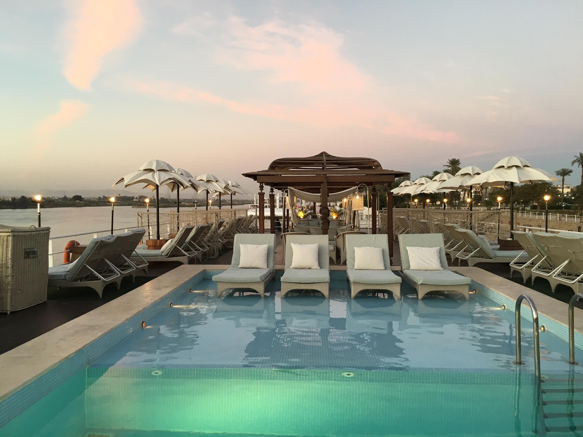 Sailing the Nile on the Sanctuary Sun Boat IV