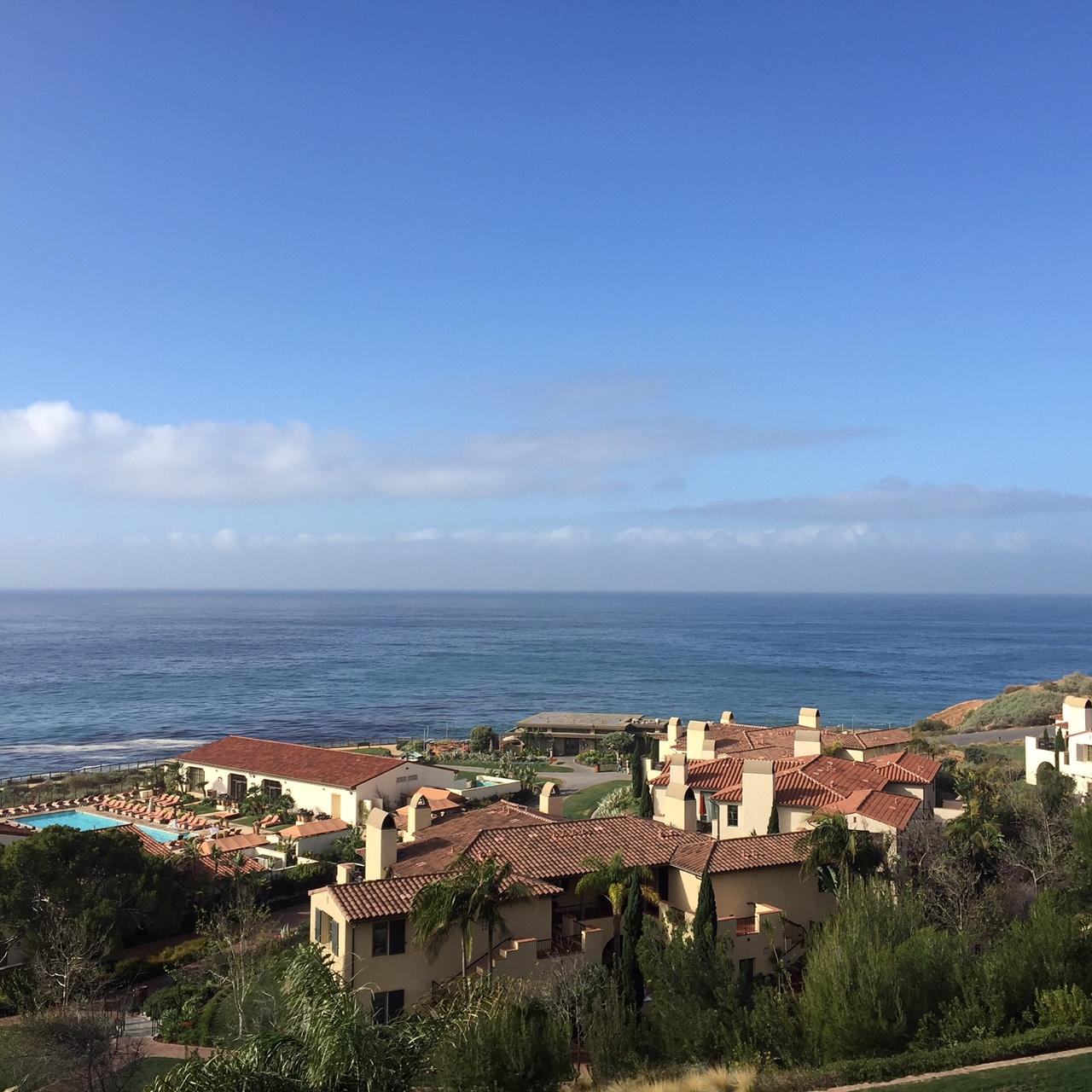 Work trip to Terranea Resort outside of L.A.