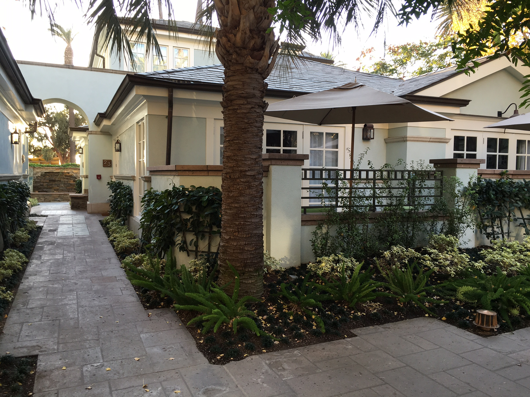 Thanksgiving with my family in L.A. - Fairmont Miramar Hotel & Bungalows in Santa Monica