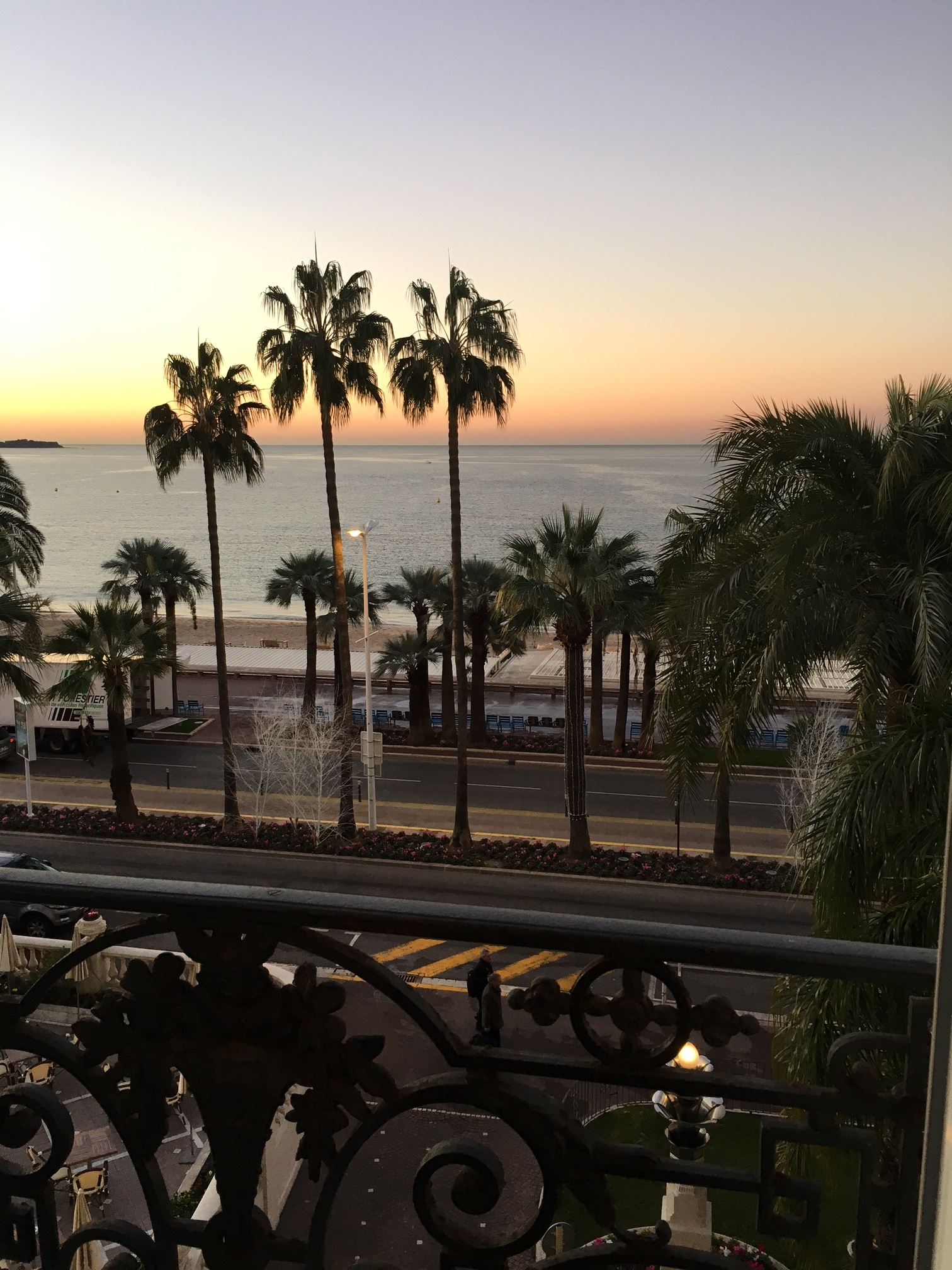 View from the Carlton in Cannes - ILTM!