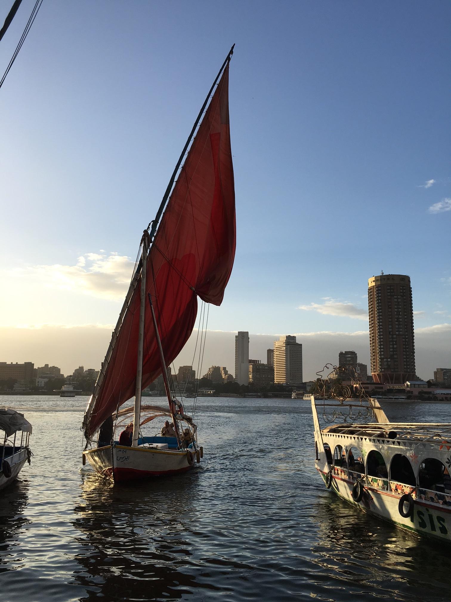 Felucca ride, Cairo!