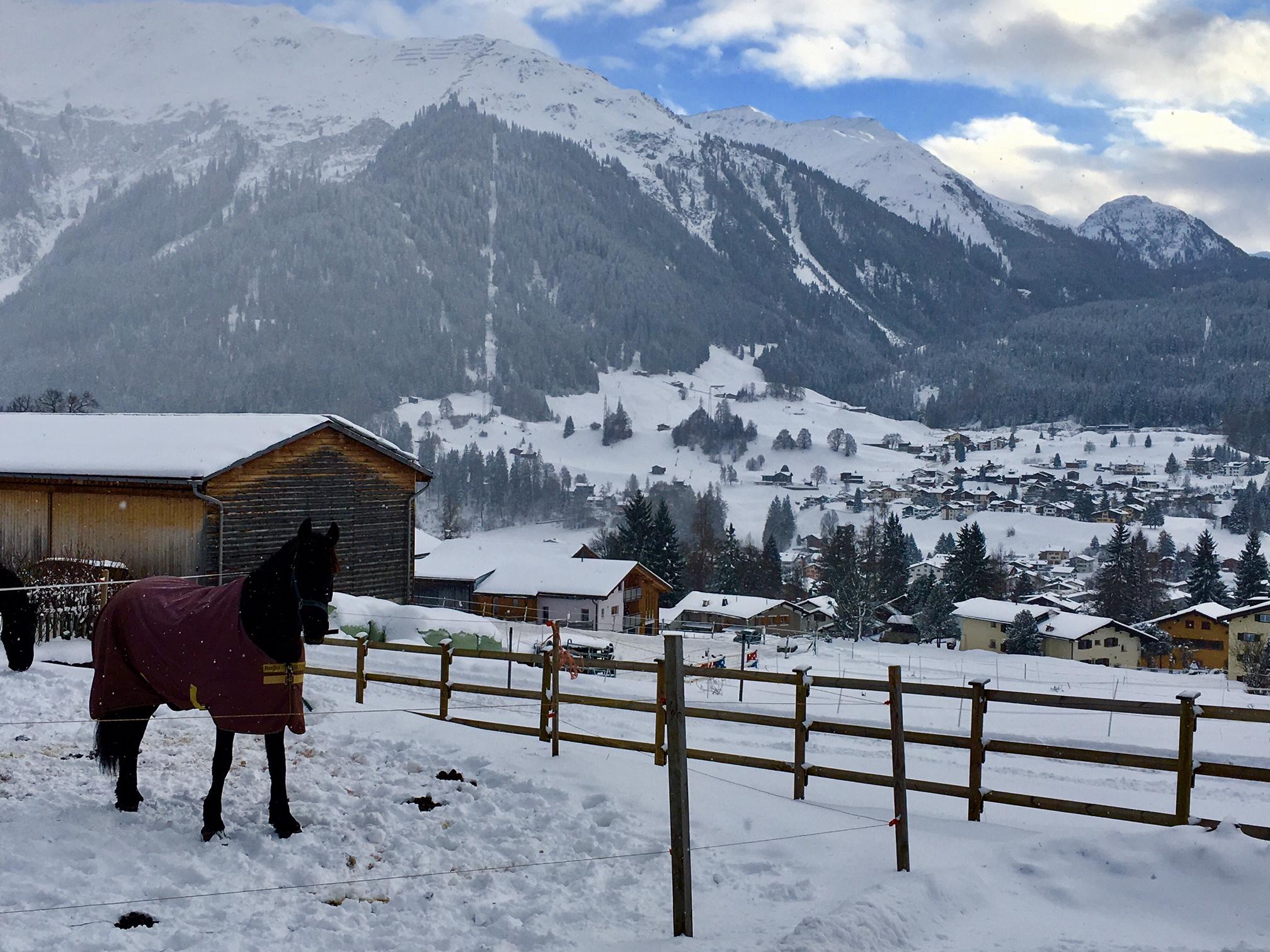Klosters, Switzerland.