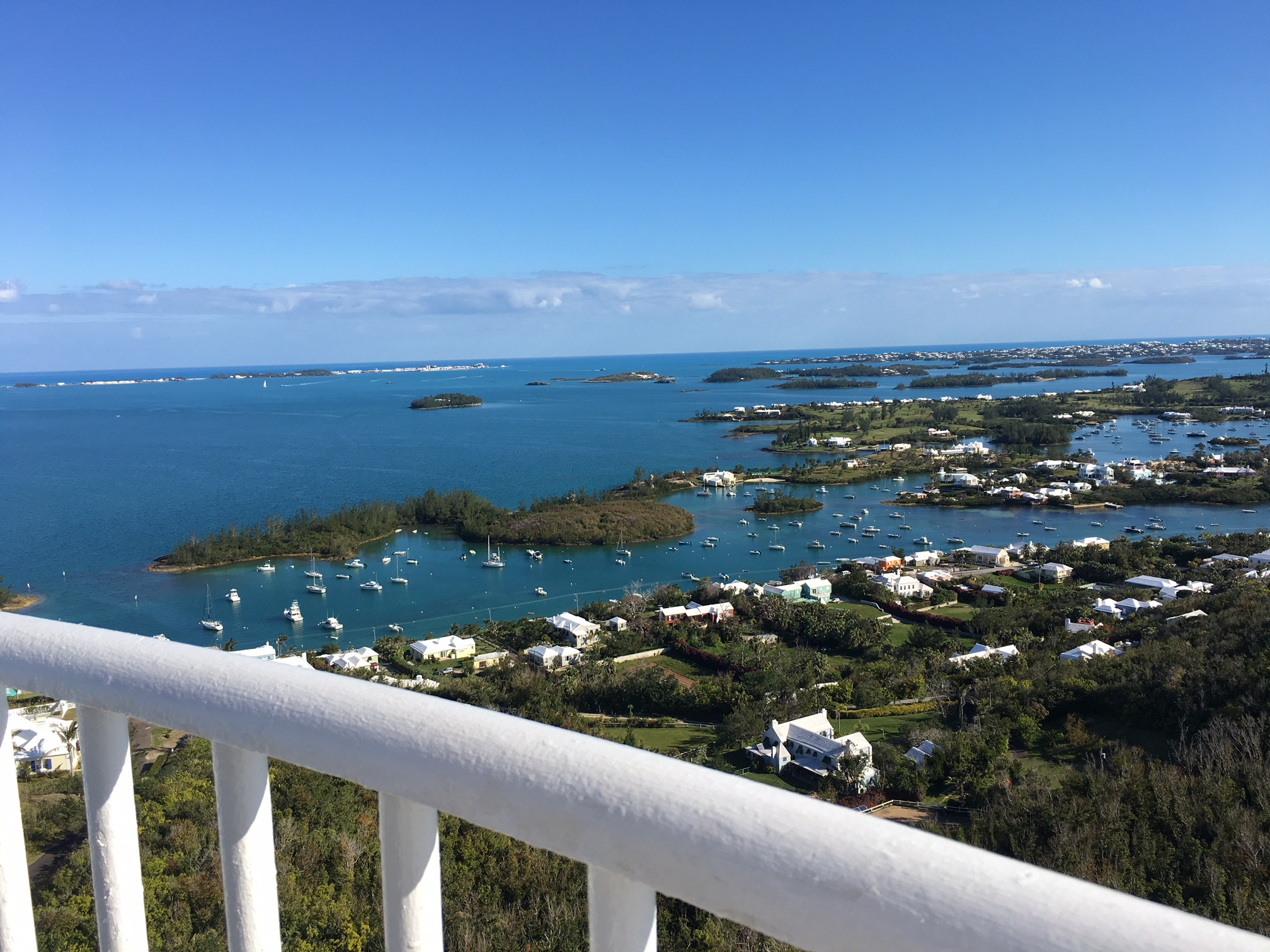 The view from Gibbs Hill Lighthouse