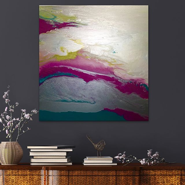 "This ""Pink Lemondade"" is 36 x36 x 1.5 and will be on my website and Saatchi Art  later tonight. . . #Interiordesigner #artforthehome  #Colorado design #interiors #denvergallery #rhinoart #denverartist #denverlife #artcollector  #denverdesign #creativelife #modernart #contemporaryartgallery #nycdecor  #artcurator #coloradoartgallery #denverinteriordesigner #saatchiart #coloradogallery #coloradocurator #modernhomedecor #contemporarypainting #santefeartdistrict #artdistrictdenver #artconsultant #womenartists #backalleystudios #dartgallerydenver"